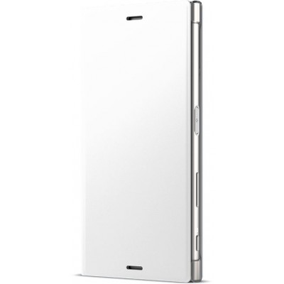 Sony SCSG20 flipové púzdro pre Sony XZs, biele