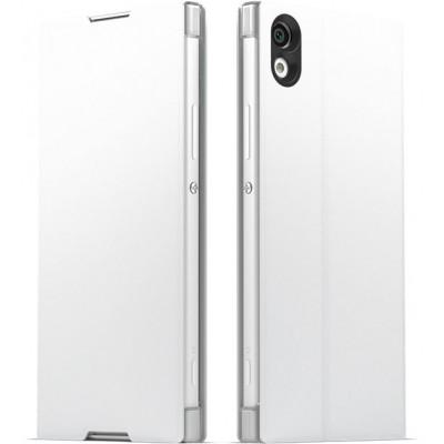 Sony SCSG30 flipové púzdro pre Sony XA1, biele
