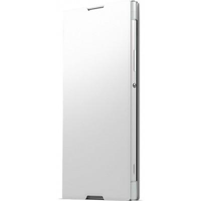 Sony SCSG40 flipové púzdro pre Sony XA1 Ultra, biele