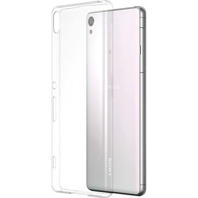 Štýlový kryt Sony SBC24 pre Xperia XA, transparentný