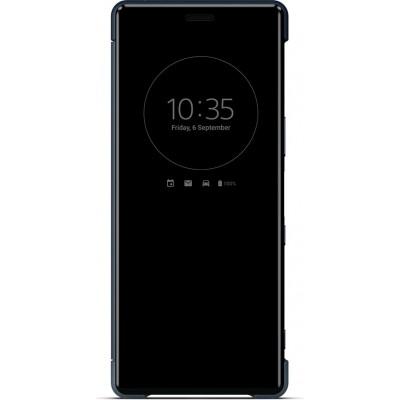 Sony SCVJ10 flipové púzdro pre Sony Xperia 5, modré