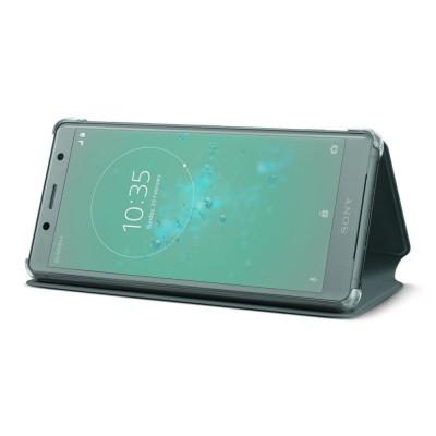 Sony SCSH50 flipové púzdro pre Sony Xperia XZ2 Compact, zelené