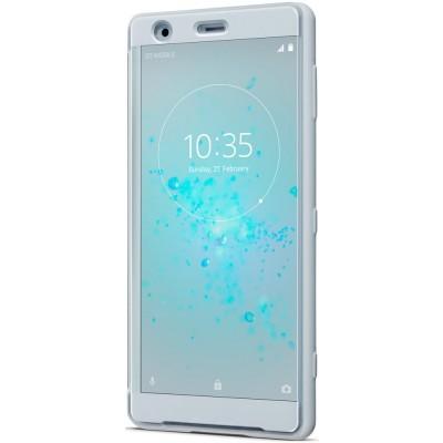 Sony SCTH40 flipové púzdro s oknom pre Sony Xperia XZ2, šedé