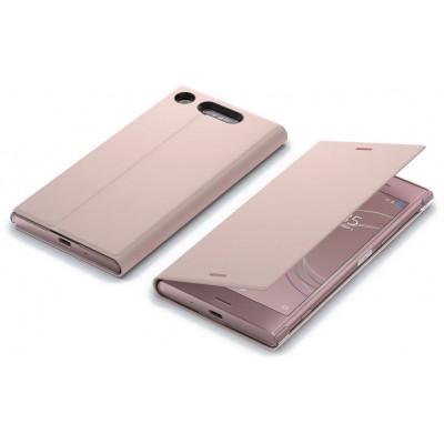 Sony SCSG50 flipové púzdro pre Sony XZ1, ružové
