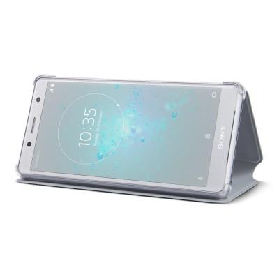 Sony SCSH50 flipové púzdro pre Sony Xperia XZ2 Compact, šedé