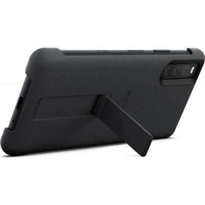 Sony štýlový kryt so stojanom pre smartfón Xperia 10 III, čierny